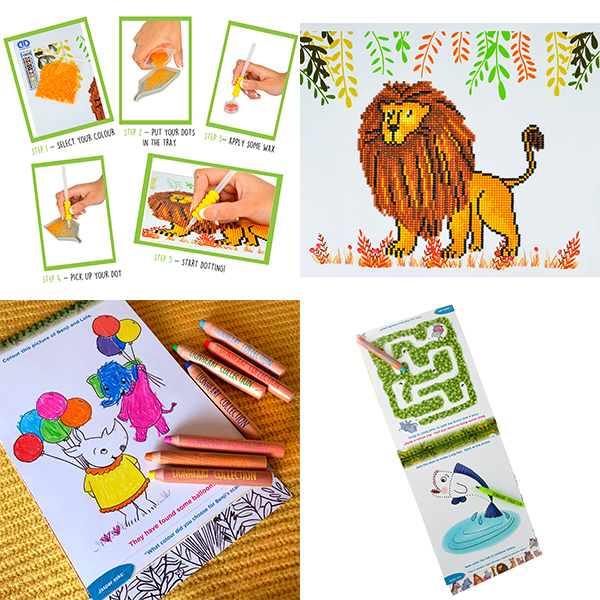 Celebrate National Children's Art Week with Shimmer Dots
