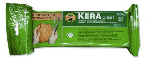Terracotta air dry modelling clay 1000g