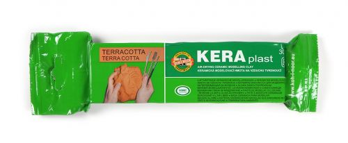 Terracotta air dry modelling clay 300g