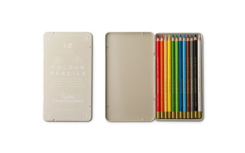 Printworks 12 Colour Pencils - Classic