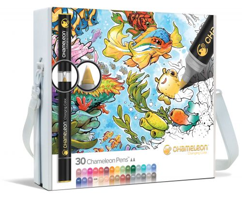Chameleon Art Products 30 Pen Complete Me Set
