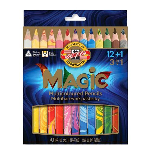 12+1 Magic Pencils by Koh-I-Noor