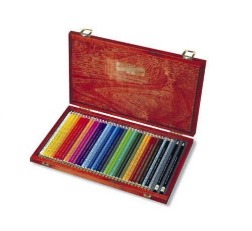 Set of 36 colouring & 2 graphite pencils