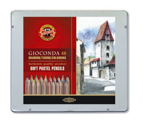 48 Gioconda Soft Pastel Pencils, Koh-I-Noor