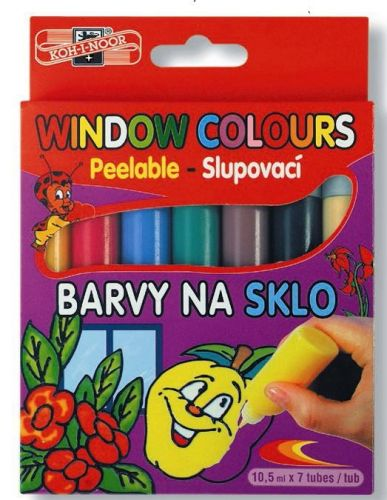 7 Window Colour Paints, Koh-I-Noor