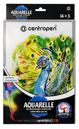 CENTROPEN AQUARELLE SET 9383