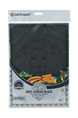CENTROPEN ANTI-STRESS ANIMALS SET BLACK 9997