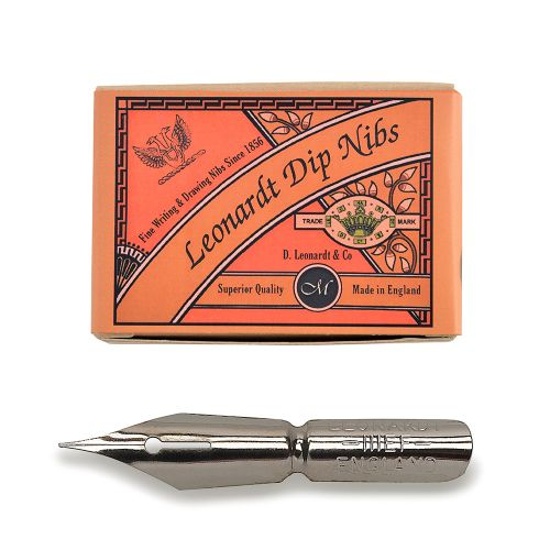 D Leonardt Copperplate Point Nib - Box of 24