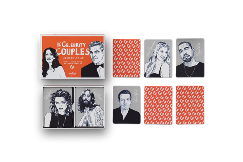 Printworks Memory Game - Celebrity Couples