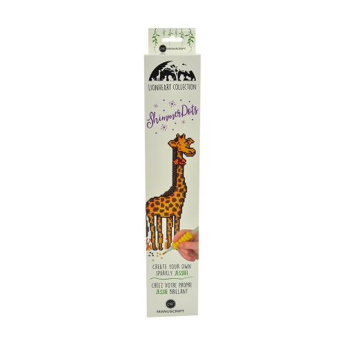 Shimmer Dots - Diamond Art Craft Kit - Jessie the Giraffe