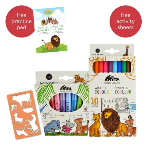 The Lionheart Tales Drawing Set