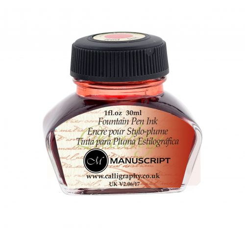 Fountain Pen Ink- Red