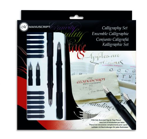 Calligraphy Set - left hand
