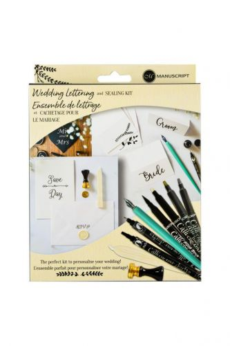 Wedding Lettering and Sealing Kit