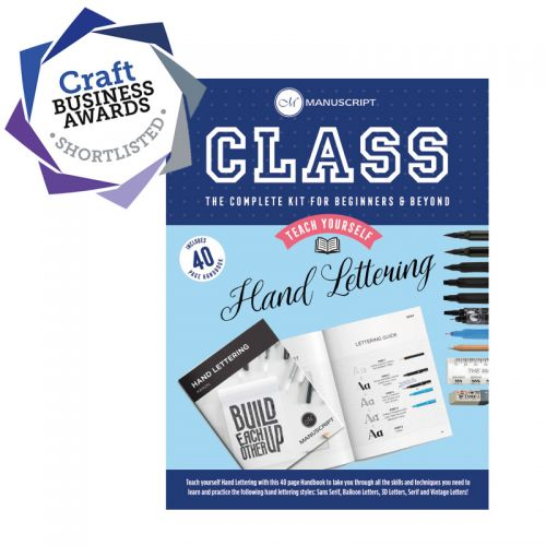 Class Hand Lettering Kit - Teach Yourself
