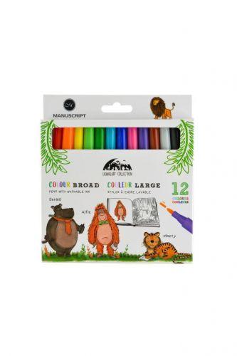 Lionheart Colour Broad Markers