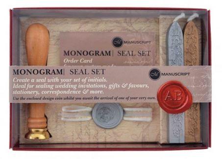 Monogram Seal Set