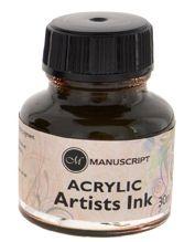 Sepia Acrylic Ink