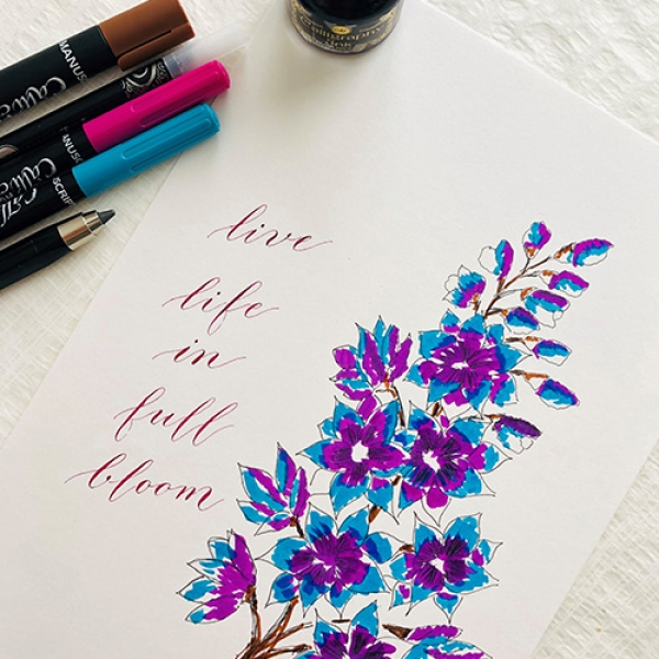 Create Your Own...Floral Canvas