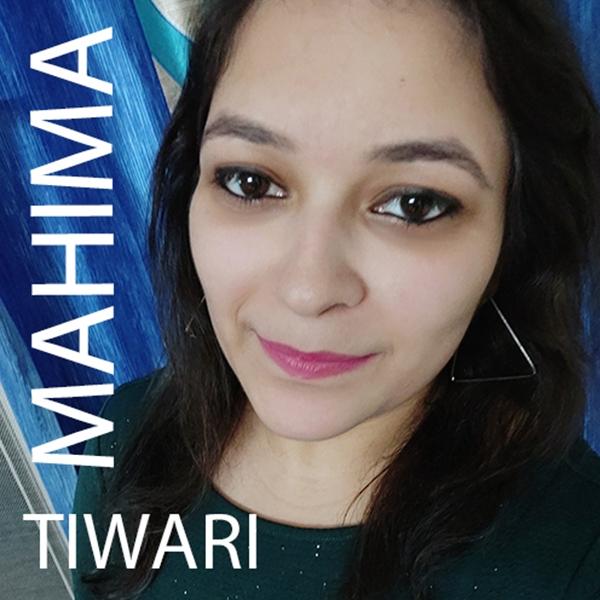 April's Artist of the Month... Mahima Tiwari