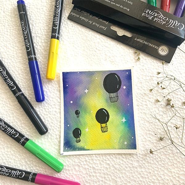 Mahima Tiwari - Watercolour Step by Step