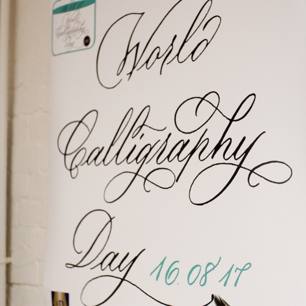 World Calligraphy Day Success