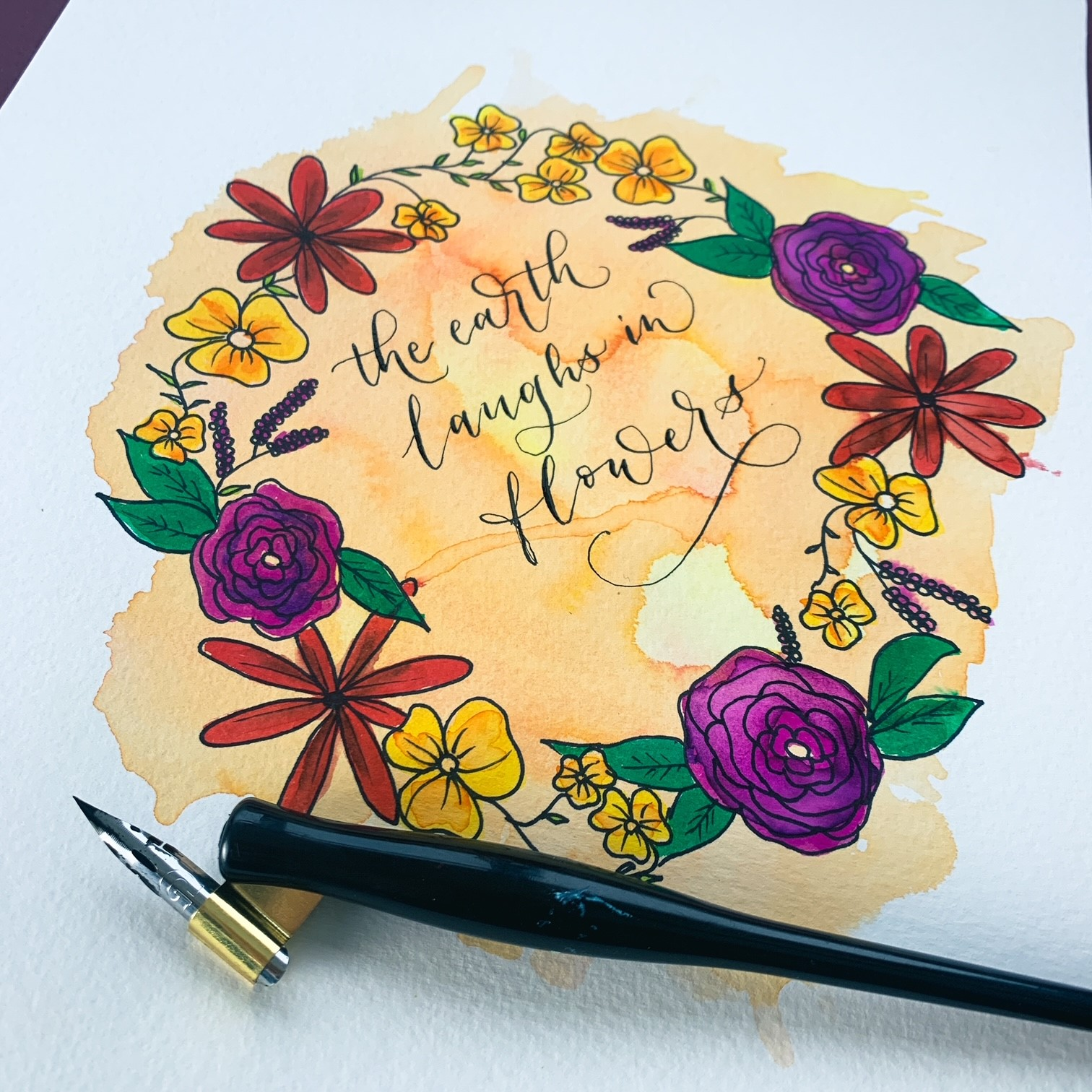 Create your Own...Watercolour Border